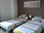 Au choix deux lits jumeaux