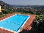 Appartamento di lusso con piscina e vista meravigliosa sul Lago