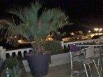 Notre terrasse de nuit