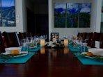Elegant dinners at MVP