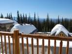 Enjoy the views from Bullet Creek Cabins!