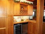 The kitchen also features a dishwasher