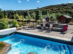 Private In-Ground Summer Heated Pool
