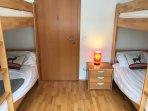 Third Bedroom with bunk beds
