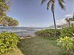 'Hibiscus' Apartment on Hauula Beachfront w/ Views