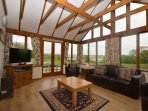 Stunning conservatory/lounge area
