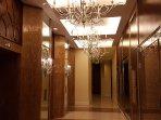 Amenities elevator foyer