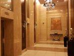 Ground floor elevator foyer