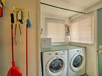 Keep your clothes fresh and clean with the in-unit laundry machines.