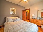Retreat to one of the 3 bedrooms comfortably sleeping 6 guests.