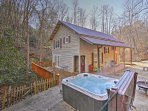 Experience the best of Bryson City from this magical vacation rental cottage!