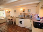 Kitchen/Diner, well equipped inc. dishwasher and washing machine