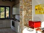 The modern shared kitchen.