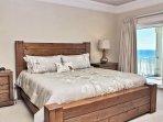 Master Bedroom 1 - King and Balcony Access