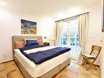 Bedroom Petit Paris, bix spring beds, direct access to garden, build-in silent aircon.