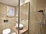 Le Petit Paris Bathroom with rainshower and WC
