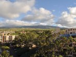 Side view of west Maui mountains