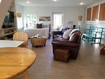 The Bungalow has a large living space.