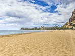 You'll be about 1 mile from famous Makaha Beach on your next Hawaii getaway!