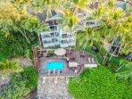 Aerial of Poipu Palms