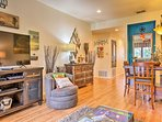 You'll love this condo's tasteful decor and hardwood floors.