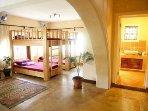 8 bed mixed dorm room - Footprints House