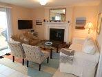 living room - upper floor