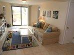 first (lower) floor entertainment/TV room