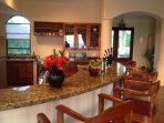 A well-appointed kitchen allows you to cook delicious meals (if you choose to).
