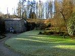 The Old Lime Kiln, Lewdown. Next to Alder lake & Vineyard