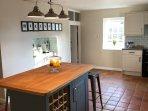Spacious Farmhouse Kitchen
