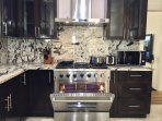 Six Burner Natural Gas Stove with 36 inch oven
