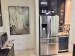 Full Size Refrigerator and 50 Bottle Wine Cooler