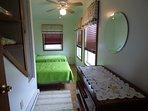 Bedroom 2 - upstairs (2 twin beds)