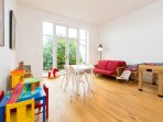 Bright playroom for children of all ages