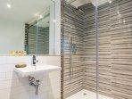 En-suite shower room in the maisonette bedrooms