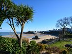 Tenby with its cobbled streets, beaches and shops are a short drive away