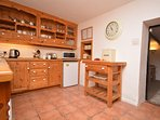 Traditional cottage style kitchen