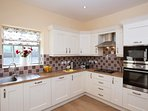 Wonderfully spacious and well equipped kitchen