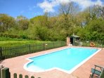 Outside shared swimming pool