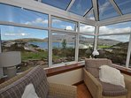 Stunning views from Conservatory