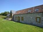 Delightful converted barn (right-hand side)