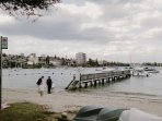 Leave for an event on the harbour by water taxi or private boat.