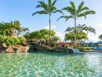Poipu Beach Athletic Pool - Stay at Kiahuna and have a membership