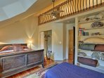 Enjoy a wonderful sleep on the queen bed in the third bedroom.