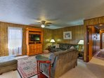 This spacious 1,350-square-foot property comfortably sleeps 6 and is filled with all of the home essentials.