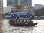 Private condo shuttle boat for free trips across the river