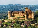 le château de Castelnau-Bretenaux à 25 min