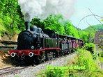 le train à vapeur de Martel à 35 min