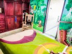 Children's room is very comfortable and colorful, safe and cozy